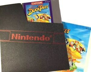 Duck Tales Disney Nintendo NES TESTED Game Instruction Manual and Case $49.00