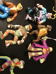 Vintage Teenage Mutant Turtles, Lot Of 7