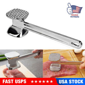 Kitchen Craft Beaf Steak Aluminum Alloy Tenderiser Mallet Meat Tenderizer Hammer
