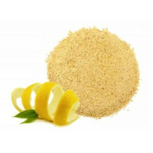 Granulated Lemon Citrus Peel 3lb