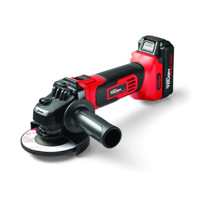 Cordless Angle Grinder Portable Power Tool with 20V Li-Ion Battery