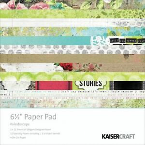 Kaleidoscope Paper Pad 6.5x6.5 by Kaisercraft Floral