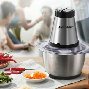 Meat Grinder Vegetable Chopper Stainless Steel Home Kitchen Commercial 500W Tool