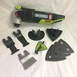 Rockwell Sonicrafter RK2701K 20V Brushless Oscillating Bare tool w/ Accessories