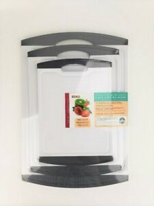 Neoflam Antibacterial Cutting Board Set Dishwasher Safe Non Slip Easy Clean $27.99