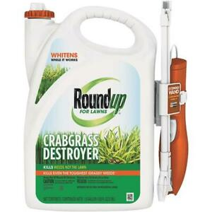 Roundup For Lawns 1 Gal. Wand Sprayer Crabgrass Destroyer 2 pk