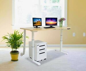 Electric Height Adjustable Desk Frame and Table Top 60