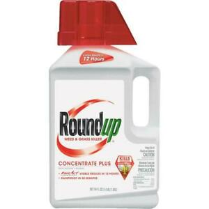 Roundup 1/2 Gal. Concentrate Plus Weed & Grass Killer 2 pk