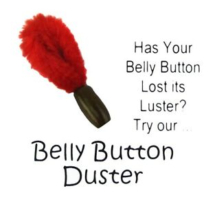 Funny Prank Belly Button Lint Dust Brush Practical Joke Novelty Redneck Gag Gift