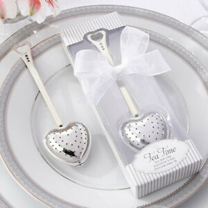 Heart Design Shape Spoon Infuser Leaf Souvenir CL J5G1