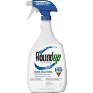 Roundup 30 Oz. Ready To Use Trigger Spray Weed & Grass Killer III 2 pk