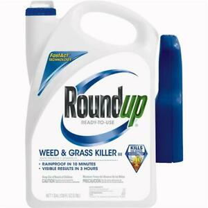 Roundup 1 Gal. Ready To Use Trigger Spray Weed & Grass Killer III 2 pk