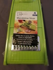 mandolin slicer safely slice or grate vegetables
