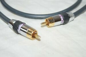 Monster RCA Male to Male Cable 3ft Stereo Audio Subwoofer Cord C $16.99