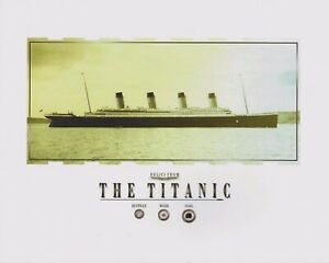 TITANIC relics artifacts COAL WOOD RUSTICLE pieces specks RMS TITANIC 8x10