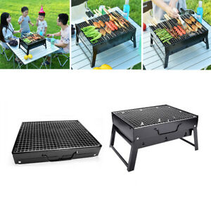 BBQ Grill Outdoor Charcoal Lightweight Small Folding Portable for Camping Party