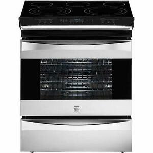 Kenmore Elite 42553 Electric Slide-In Electric Range w/ Convection - Stainless