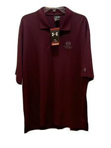 Under Armour Mens The Broadmoor Golf Club Polo Shirt Size Large $25.00