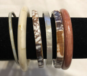 Nice Bracelet Lot MOM, Shell, Acrylic