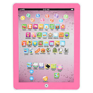 Kids Children TABLET MINI PAD Educational Learning Toys Gift For Boys Girls PK