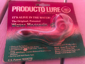 Producto WATER MOCCASIN Snake Lure XLNT IN PACKAGE #112