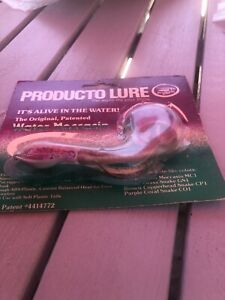 Producto WATER MOCCASIN Snake Lure XLNT IN PACKAGE #113