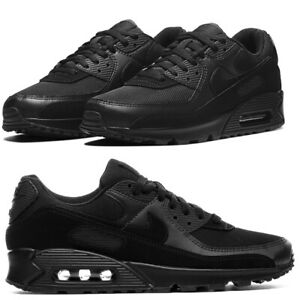 Nike Air Max 90 Triple Black CN8490 003 Running Shoes Men's Multi Size OG NEW
