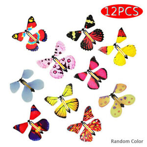 12Pcs Butterfly Magic Flying Card Greeting Cards New For Exclusive Gift Birthday
