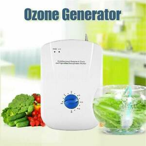18W 400mg/h Ozone Generator Ozonator Air Purifier Water Food Sterilizer Use Home