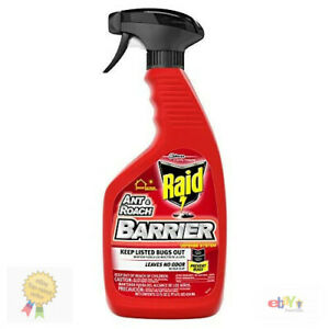 Raid Ant & Roach Barrier Spray for Indoor & Outdoor Use 22 Fl Oz Pack of 1