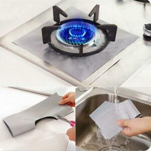 Oven Liners Gas Hob Protector Sheets Stovetop Burner Protector Cover Cooking Set