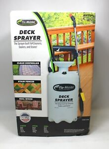 RL Flo-Master 2202CSS 2Gal Deck Sprayer Sealant Cleaner Stain Pressure Pump New!