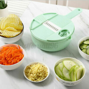 Multifunction Slicer Cutter Grater Peeler Vegetable Carrat Onion 3 Colors US $14.69