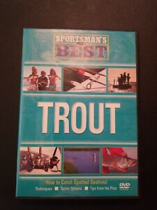 Sportsman#x27;s Best Trout How To Catch Spotted Seatrout DVD