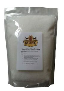 Water Absorbing Polymer Crystals Large - Soil Moist - Cricket Water Gel