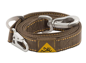 BROWNING Classic Dog Leash 4#x27; amp; 6#x27; BROWN amp; MOSSY OAK CAMO amp; PINK Hunting NWT