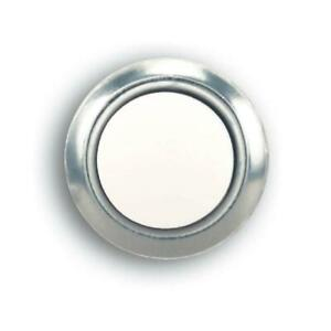 Hampton Bay Wired Lighted Push Button Nickel Finish