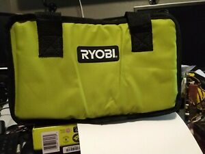 RYOBI TOOL BAG / CASE FOR 18 VOLT DRILL, IMPACT, BATTERY & CHARGER 12x10x7