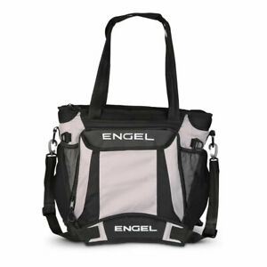 Engel ENGCB2-GRAY 23 Quart Insulated Water Resistant Backpack Cooler Bag, Grey