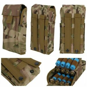 Tactical Molle 25 Round Shot gun Shell Reload Magazine Pouch 12G Ammo Holder