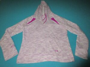 UNDER ARMOUR STORM Womens Purple Hoodie Size Large L $19.99