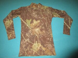 UNDER ARMOUR COLDGEAR Mens Camo Long Sleeve Fitted Shirt Size Medium M $16.99
