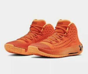 Under Armour Men's UA HOVR HAVOC 2 Basketball Shoes Sz.12 NEW 3022050 800 ORANGE $10.50