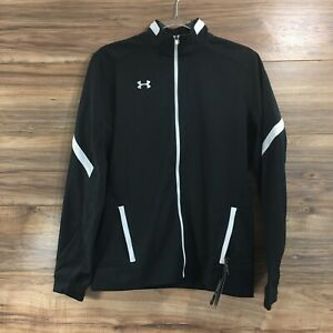Under Armour Womens Full Zip Loose Fit Track Jacket Size S New $39.98
