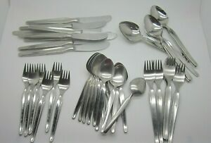 Bridal Dream by Coreling Germany High Quality 42 Piece Set Stainless Flatware