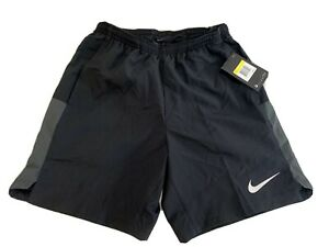 NIKE Mens Running Pull On Running Gym Shorts Small Black 856838 010 S $30.99