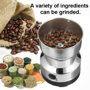 220V Electric Stainless Steel Home Grinding Milling Machines Coffee Bean Grinder