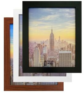 Frame Amo Wood Picture Frames or Poster Frames 1 inch Wide 183 sizes and colors $49.95