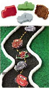 Disney Cars 2 Cookie Cutters Birthday Party Christmas 4 Set Williams Sonoma NEW