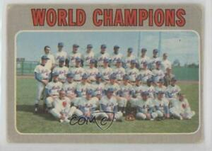 1970 O Pee Chee New York Mets Team World Champions New Mets #1